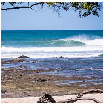 Surfing Playa Negra